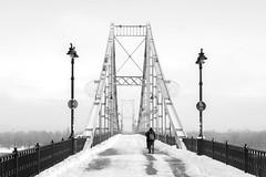_DSC01801 (Artem_Kotenko) Tags: sony a77 a77v minolta 2485 2485mm kyiv winter autumn sun river bridge park snow cold portrait water walkway