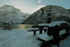 Peace (- Crupi Giorgio (official)) Tags: italy altoadige lake snow sky sun mountain relax tranquility calm landscape canon canoneos7d sigma 1020 mm