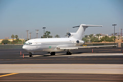 Haven't Seen One of These For Awhile (craigsanders429) Tags: boeing727 phoenix phoenixskyharborairport airports aircraft jets jetliners planes airplanes aboardaplane