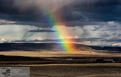 Icelandic Rainbow (cristiancoser) Tags: iceland rainbow color landscape mountain mountains explore flickr flickrtoday landscapephotography travelphotography travel spectacular breathtaking nikon