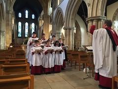 Minster Choir (BiggestWoo) Tags: church chorister choristers choir minster grimsby