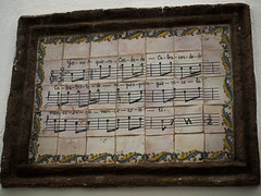 La viudita y el Conde de Cabra. (christiangildieguez) Tags: lorca mural pared canción obra drama viuda conde cabra partitura cordoba song art