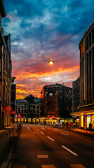 Sunset in Zurich! An unforgettable Memory (Curious ClickZ of Rezwanul Alam) Tags: sunset zurich sky goldenhour clouds street mobilephotography cellphonegraphy note4 lightroom beautiful loveedit outdoor travel