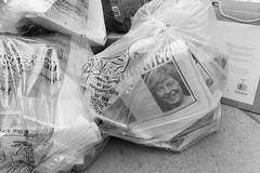 Brexit Diaries - photo 3 of 6 on social media (fabiolug) Tags: newspaper newspapers headline picture theresamay portrait smile rubbish recycle recycling bag binned pavement nottinghill brexit eu uk europe europeanunion unitedkingdom britain series project london street streetphotography leicammonochrom mmonochrom monochrom leicamonochrom leica leicam rangefinder blackandwhite blackwhite bw monochrome biancoenero 35mmsummicronasph 35mmf2summicronasph summicronm35mmf2asph summicron35mmf2asph 35mm summicron leicasummicron leica35mm