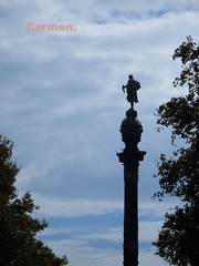 FELIZ MARTES DE NUBES AMIG@S. (CarmenCordero1949) Tags: nubes barcelona carmen coln