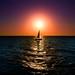 Sailing at sunset - Tel-Aviv beach
