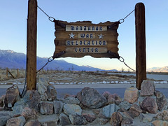 manzanar (army.arch) Tags: lonepine california ca manzanar concentration relocation internment camp japaneseamerican wwii worldwarii dishes stilllife dust sign