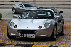 Lotus, Elise, Tuen Mun, Hong Kong (Daryl Chapman Photography) Tags: nn4557 lotus elise british goldcoast goldcoasthotel 1d mkiv car cars auto autos automobile canon eos is ii 70200l f28 road engine power nice wheels rims hongkong china sar drive drivers driving fast grip photoshop cs6 windows darylchapman automotive photography hk hkg bhp horsepower brakes gas fuel petrol topgear headlights worldcars daryl chapman darylchapmanphotography