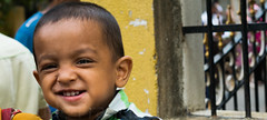 Smiling child. (judefrancis91) Tags: nature photograph photography dslr grill outdoor cover smile childhood innocence kid india southindia flickr