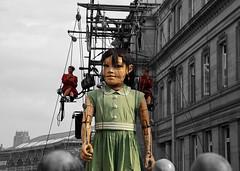 Little Girl Giant (David Chennell - DavidC.Photography) Tags: liverpool giants merseyside littlegirlgiant giantspectacular