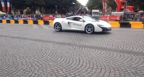 McLaren at La Course, the women's race