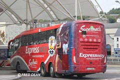 Bus Eireann SE18 (12D20481). (Fred Dean Jnr) Tags: cork expressway scania buseireann irizar i6 se18 supermacs triaxle alloverad parnellplacebusstation buseireannroute51 12d20481