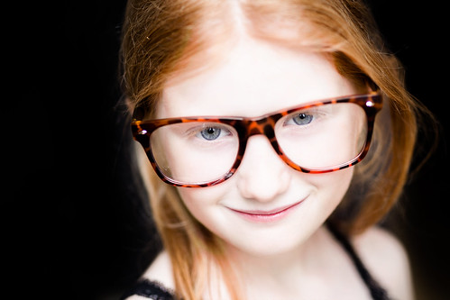Little Girl - Big Glasses