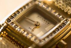 The Golden Hour (Captured Heart) Tags: clock denmark gold golden time timepiece tick skagen ticktock goldwatch macromondays aslongasitticks