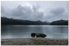 "Lago Di Molveno (""Deca"") Tags: summer mountain lake rain clouds lago nuvole estate august agosto pioggia montagna dolomites dolomiti molveno dolomitidibrenta lagodimolveno"