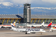Madrid-Barajas Airport T4 (birrlad) Tags: madrid tower airplane airport spain ramp taxi aircraft aviation airplanes finnair terminal apron international airline airbus airlines airliner t4 barajas taxiway a321 a321231 a321200 ohlzk