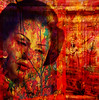 Autumn Geisha (virtually_supine) Tags: abstract collage photomanipulation doors creative vivid autumncolours textures geisha montage layers mapletree brightcolours hss digitalartwork crazygeniuses sliderssunday photoshopelements9 mixmasterchallenge2 chefsandyabstractartangel77