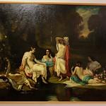 La Rochelle, Musée des beaux arts, Louis de Rudder, les baigneuses, 1850, huile sur toile thumbnail