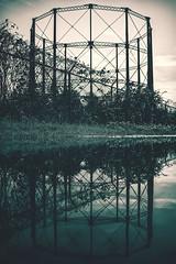 Reflect (Joey Wharton) Tags: old urban reflection abandoned outdoors virginia structure richmond explore reflect va exploration rva