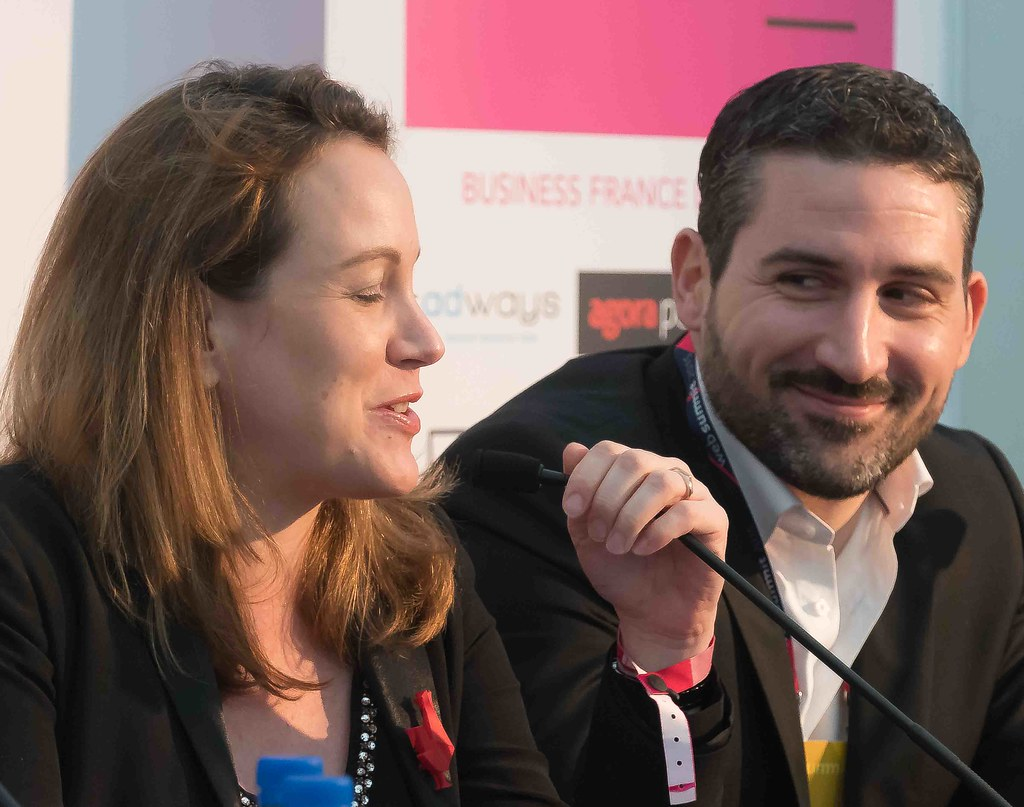 TODAY AT THE WEB SUMMIT THERE WAS A PRESS CONFERENCE HOSTED BY AXELLE LEMAIRE [FRENCH MINISTER RESPONSIBLE FOR DIGITAL AFFAIRS]-109925