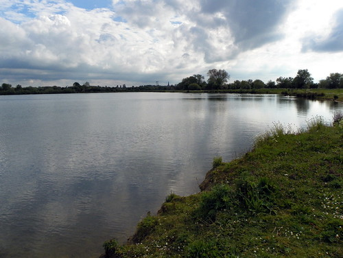 Godmanchester to St Ives 271: Island Lake, Godmanchester Nature Reserve