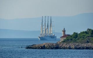 Adriatic Sea (01) - Wind Star