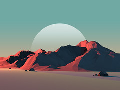 Low-Poly Mountain Landscape at Dusk with Moon (Lejland1) Tags: abstract 3d background moon mountain poly sky polygonal sharp design desert snow polygon hill isolated everest adventure triangle view rock geometry render mountaineer graphic pastel lowpoly dusk top simple ice shape modern creative illustration icon geometric world range texture series high blue poster banner art iceberg vintage peak nature landscape unitedstatesofamerica