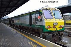 229 at Heuston, 27/11/15 (hurricanemk1c) Tags: dublin irish train gm rail railway trains railways irishrail 201 generalmotors 229 heuston 2015 emd iarnrd ireann iarnrdireann 0920corkheuston 1300heustoncork