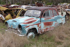 Austin A55 Cambridge (jeremyg3030) Tags: cambridge cars abandoned yard austin rust wrecking wreckers cooma flynns a55