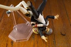 Suplex! (Kodama_Anime) Tags: persona 50mm fuji pentax elements fujifilm gsc suplex maxfactory persona3 goodsmilecompany aigis figma persona4 yunarukami