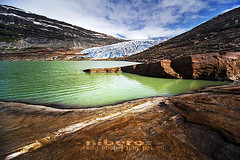 Svartisen glacier, Norway (Andrea Loria) Tags: travel snow cold ice nature norway landscape photography glacier viaggio