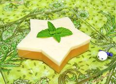 Milky Muskmelon Jelly (hongzhizhu) Tags: dessert homemade agaragar kitchencreations melonjelly feastalia muskmelonjelly