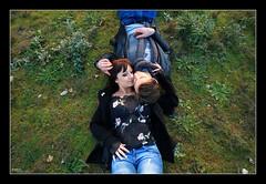 Ma et Flo - VI (Pito Charles) Tags: winter woman man france cute sexy guy love nature girl field grass fashion canon french outside eos nice couple lyon hiver femme young handsome romance amour beaut belle romantic shooting mode extrieur miribel beau champ homme herbe mignon couch jeunes jeune rhonealpes mignonne romantique rhnealpes exterieur mignons 70d