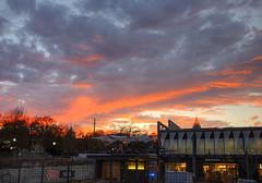 PCM Sunset (HamWithCam) Tags: atlanta sunset atl hamwithcam hwc pcm poncecitymarket fujix100s