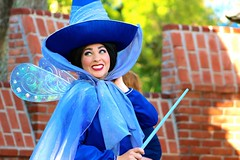 Merryweather Monday (jordanhall81) Tags: world show park sleeping classic beauty face rose festival orlando wings florida live wand character magic kingdom dancer disney medieval parade resort pixie story fairy fantasy theme wdw walt performer briar mk faye fof merryweather of