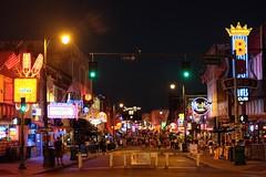 Beale Street (pburka) Tags: bealest beale street neon signs crowd blues memphis tennesse tn streetscape night