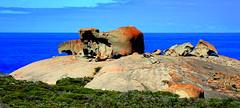 REMARKABLE ROCKS - Kangaroo Island (elliott.lani) Tags: island kangarooisland remarkablerocks rocks lichen scenicaustralia bluesky nature naturephotography wow