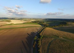 Aerial Drone Photos (spaceCityDrone) Tags: flying high over country side such peaceful picture thank you reecemannings