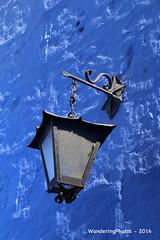 Old wall lamp - Santa Catalina Monastery - Arequipa Peru (WanderingPhotosPJB) Tags: blue peru arequipa santacatalina saintcatherine monastery convent lamp wall colour colourful