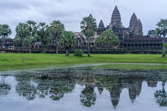 Angkor Wat, Cambodia (DitchTheMap) Tags: 2016 7 angkorwat architecture building cambodia seasia siemreap ancient angkor antique asian buddha buddhism cloud culture flickr heritage hindi hindu hinduism historic khmer lake lotus monument old reap reflection religion rock ruin sculpture seven siem site sky stone structure temple thom tourism tower travel tree tropical unesco wat wonder world