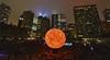Death of the Sun [OBLIVION] (Mike.Geiger.ca (Myke)) Tags: cityhall deathofthesun downtown globe hdr hdri nathanphillipssquare nbto nbto16 nuitblanche nuitblanchetoronto oblivion people projection queenstreet skyline sun