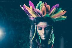 Aztec_1 (gabri.R) Tags: model moda modella fashion fashionportrait portrait ritratto ritrattomoda aztec azteca piume plumage makeup trucco strobist godoxad360 ruin rovine femalemodel female girl ragazza azteco aztecportrait