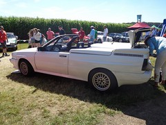 Audi Quattro Treser Roadster (911gt2rs) Tags: event meeting show tuning cabrio youngtimer weis white umbau bodykit coachbuilt worldcars