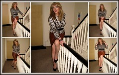 Polyptych 2 (Julie Bracken) Tags: satin kelayla transvista cd tgurl feminized xdresser mature old tv portrait hair red fashion transvestite mini skirt transgender m2f mtf transsisters enfemme ginger redhead party tranny trannie heels nylon julieb85 crossdressing crossdresser tgirl feminised 2016 kinky pantyhose crossdress polyamorous lgbt ladyboy transsexual transexual leather