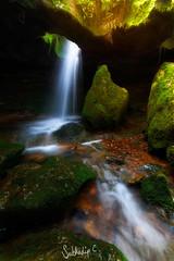 Glory Hole (Subhadip C, AFIAP) Tags: ka bri ki synrang garden caves laitmawsiang sohra cherrapunjee meghalaya india subhadip waterfalls waterfall falls rock hole glory