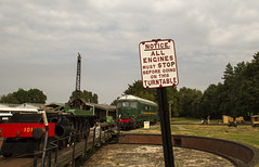 Notice! (Anxious Silence) Tags: didcotrailwaycentre museum places railroad railway transport uk train sign restoration preservation industrial outdoor