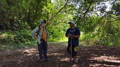 "Touring around 'Aunu'u with Chief ""Peter"" Pica"