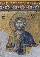 Hagia Sophia mosaic (Wild Chroma) Tags: hagia sophia mosaic hagiasophia istanbul holywisdom turkey jesuschrist