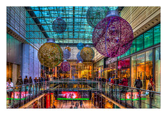 The Arndale, Shopping Centre (Kevin, from Manchester) Tags: building canon1855mm christmasmarket citycentre colorfull england hdr kevinwalker lancashire manchester northwest outdoor photoborder