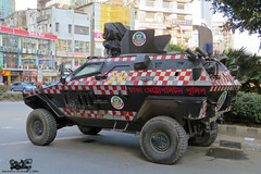 Bangladesh Police (DMP) Otokar Cobra. (Samee55) Tags: bangladesh police apc otokar cobra dhaka gulshan 2016
